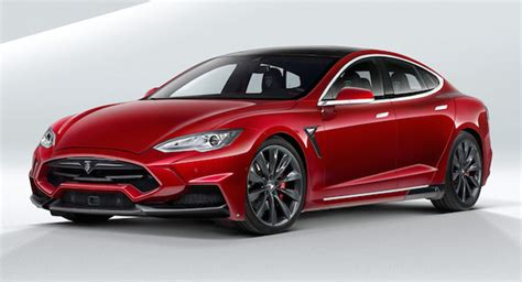 The New Tesla Model S Tesla Model S Gets A New Tuned Look From Larte Design