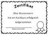 Word Vorlage Zertifikat Zertifikat Vorlagen Zum Ausdrucken Kostenlos