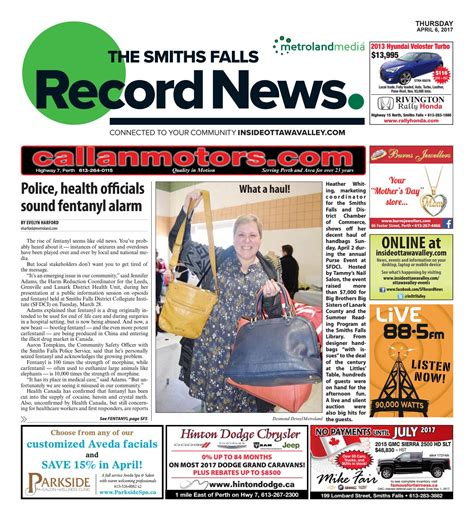 smithsfalls09112014 by metroland east smiths falls smithsfalls040617 by metroland east smiths falls record