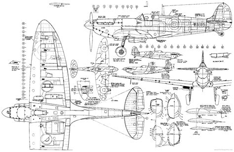 blueprint drawing free documentary spitfire