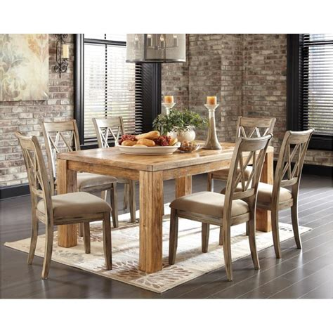 mestler dining table mestler dining room table reviews signature design by