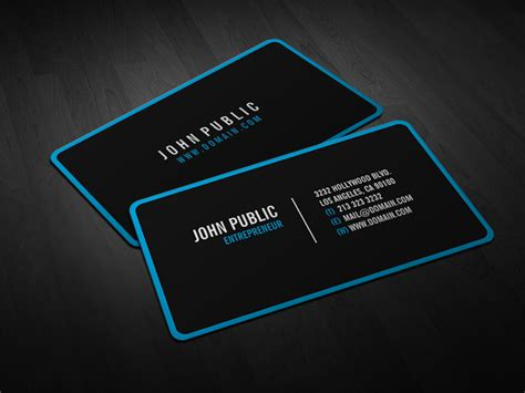 life by design home business modern black business cards with rounded corners j32 design