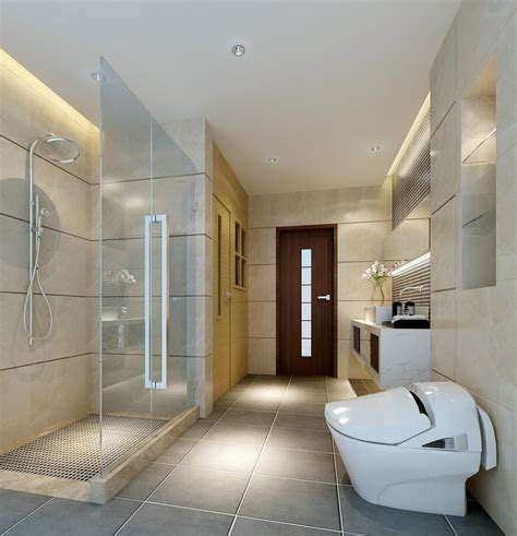 Modern Bathroom Collections Collection Modern Bathroom Fully Furnished Collection 3d