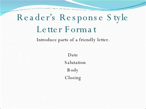 Response Letter Journal Referees Reader S Response Journal