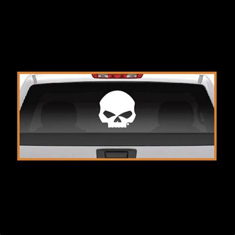cg46010 harley davidson 174 willie g skull logo cutz rear