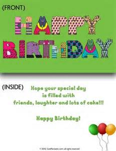 birthday cards printable greeting cards and e cards