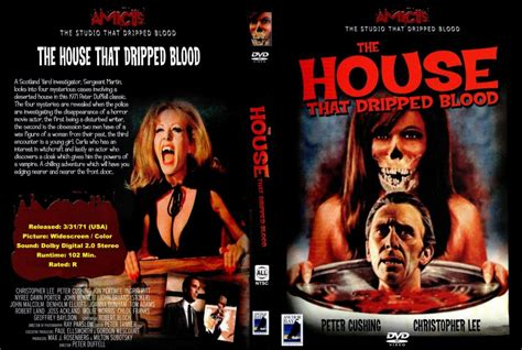 the house that the house that dripped blood movie dvd custom covers blood insert 1 dvd covers