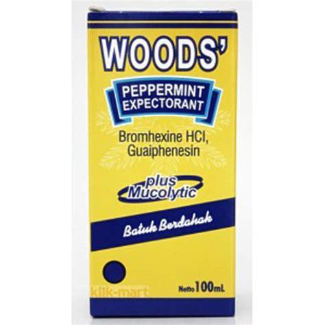 Botol Pet Woods 60ml Untuk Kemasan Obat Batuk obat batuk woods mucolytic 60ml