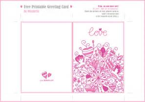 free printable greeting card templates 8 best images of printable gift cards printable