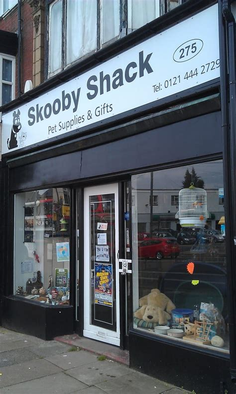 skooby shack pet stores 275 alcester road south