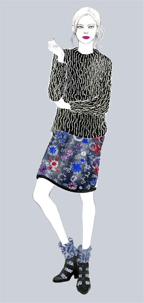 knit illustration the darker knit illustrated knitwear
