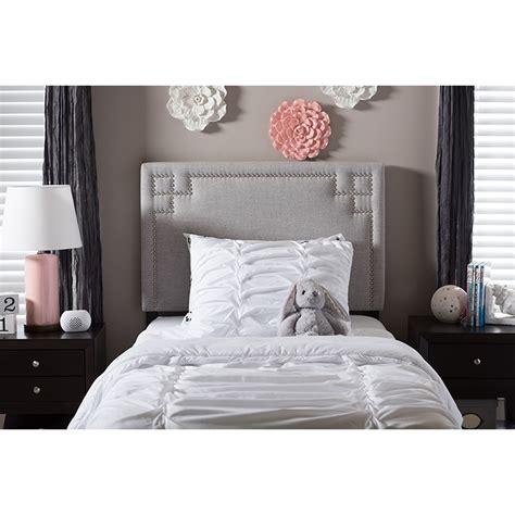 fabric twin headboard geneva fabric upholstered twin headboard grayish beige