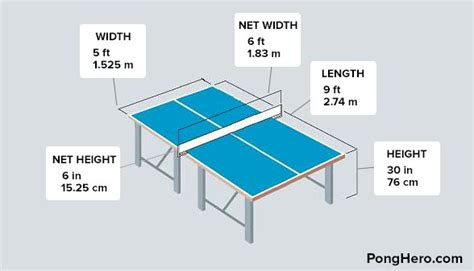 official ping pong table size best 25 ping pong table ideas on s table
