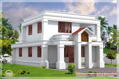 house roof designs in india cute flat roof indian home elevation 1630 sq ft kerala home design and floor plans