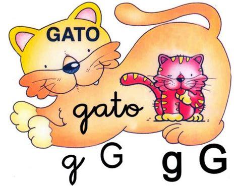 imagenes que inicien con la letra g letras imagenes infantiles para imprimir