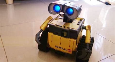 Smartphone Controlled Lights robotic pet arduino controlled wall e robot responds to
