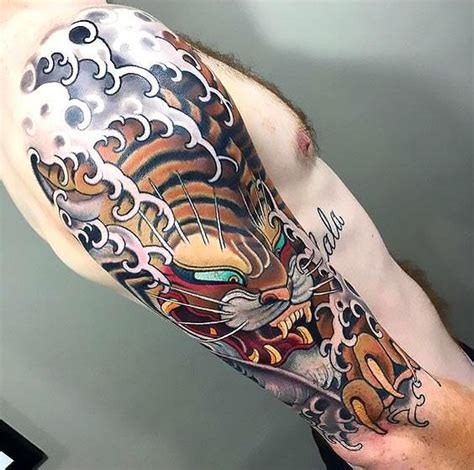 japanese style tiger tattoo designs beautiful japanese tiger idea