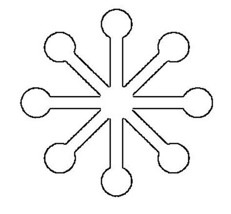 25 best ideas about snowflake shape on pinterest