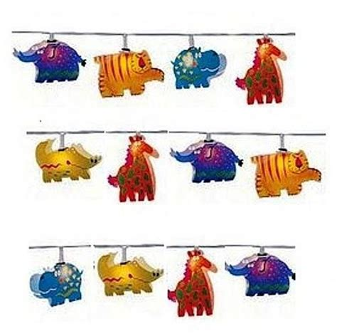 String Animals - jungle animals lights and jungles on