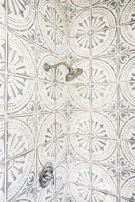pattern tiles pinterest 41 cool and eye catchy bathroom shower tile ideas digsdigs