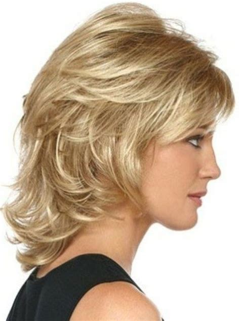 shoulder length layered curly haircuts with front and back pictures 1000 ideas about medium layered hairstyles on pinterest