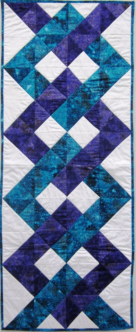Patchwork Table Mats Pattern - best 25 quilted table toppers ideas on
