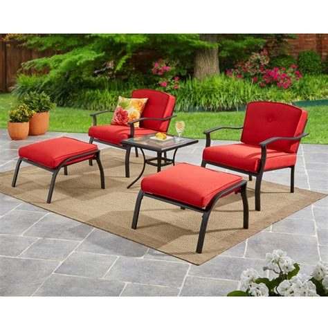 patio furniture walmart backyard tables and chairs home