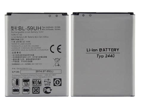 Baterai Battery Lg G2 Mini Lte Bl 59uh Original Baterai lg bl 59uh battery 2100mah 3 8v replacement for lg g2 mini d620 lte d620r d618 d610 notebook