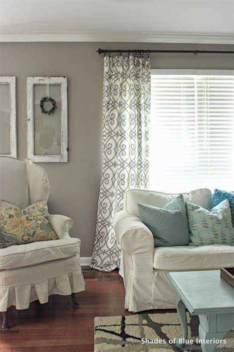 Shade Curtains For Living Room Living Room Marvellous White Living Room Curtains Ideas