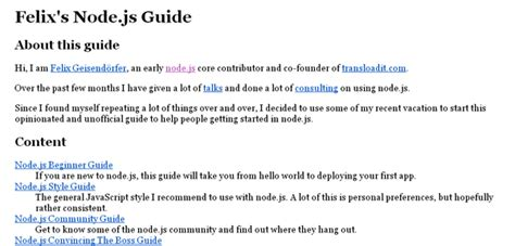node js tutorial topics best node js tutorials and resources for beginners web