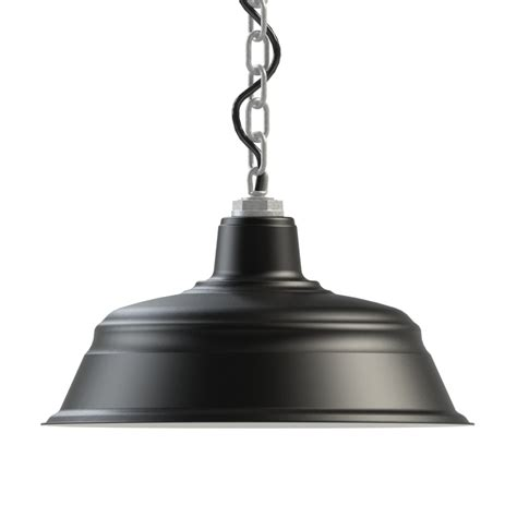 The Old Dixie Led Chain Hung Pendant Barn Light Electric Barn Light Pendant