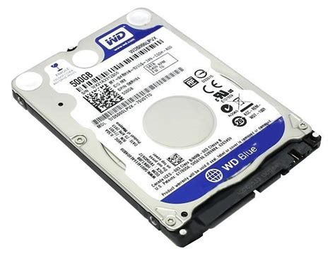 Hardisk Laptop Wd Blue 500gb western digital blue 500gb 2 5 quot laptop drive