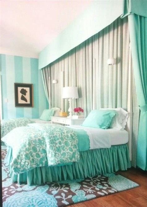 girls blue bedroom tiffany blue girls room amv girl room ideas pinterest