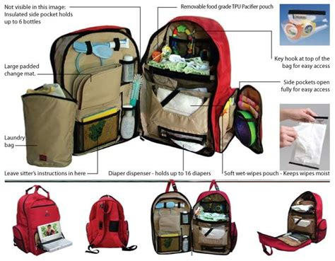 Multifunctional Childrens Bed okkatots travel diaper bag review by a mom work at