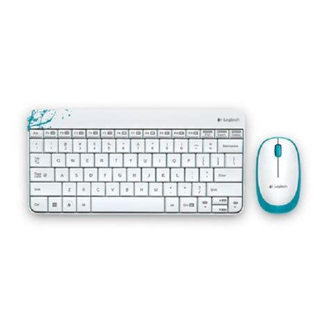 Mouse Dan Keyboard Wireless jual keyboard dan mouse wireless logitech mk240 putih haga komputer