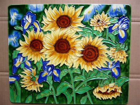 painting on ceramic tile craft hand painted ceramic tile china manufacturer other