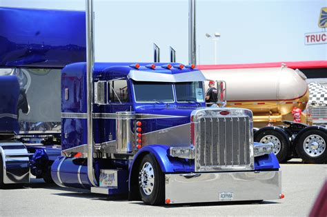 semi trucks for flat top peterbilt show trucks superrigs best in