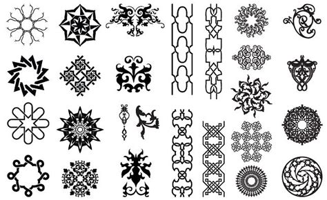 arabesque pattern ai arabesque ornate vector pack illustrations creative market