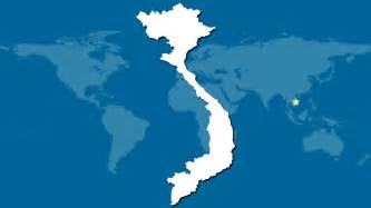 Vietnam World Map by Vietnam Location Highlighted On The World Map Pictures To