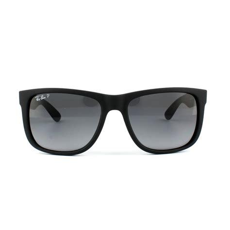 T 511 Rubber Grey ban sunglasses justin 4165 622 t3 black rubber grey gradient polarized large