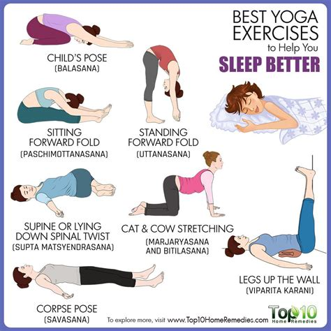 best yog best exercises to help you sleep better top 10 home