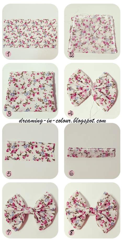 diy fabric bows diy hair bows tutorial sew or glue with fabric