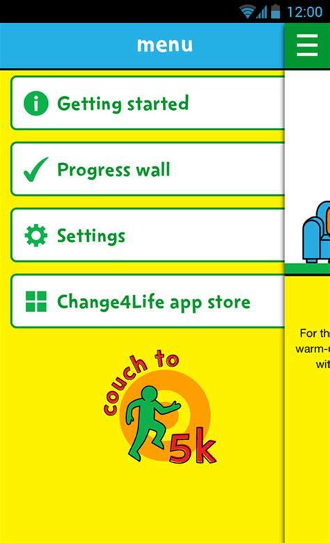 change4life to 5k free android app