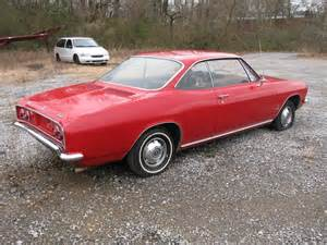 1966 chevrolet corvair seen on the