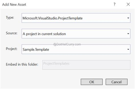 add new template create your own project template for visual studio 2013