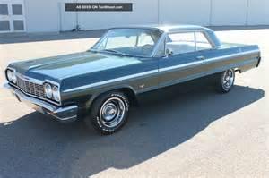 Ss Chevrolet Impala 1964 Chevrolet Impala Ss
