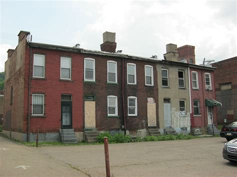 row house history discovering historic pittsburgh endangered