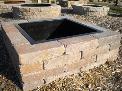 Firepit Liner Outdoor Pit Mortar 187 Backyard And Yard Design For