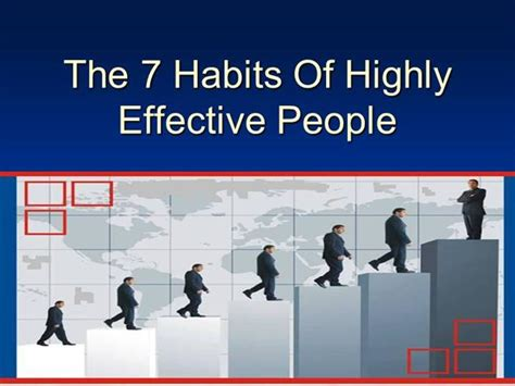 Habits Ppt 7 Habits Authorstream