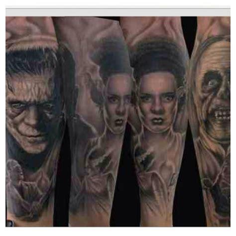 universal tattoo universal monsters horror inspiration